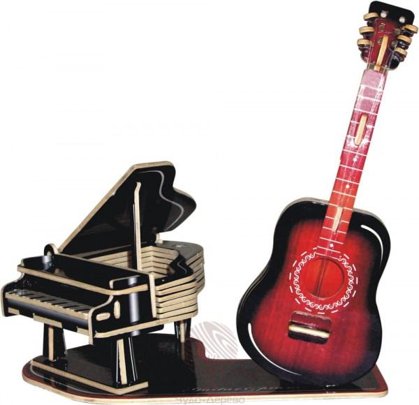 гитара скрипка пианино и бит музыка слушать